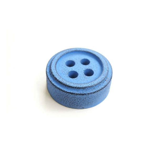 Cohana button paper weight (Blue)