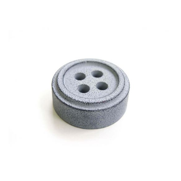 Cohana button paper weight (Grey)