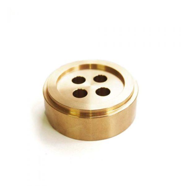 Cohana button paper weight (Brass)