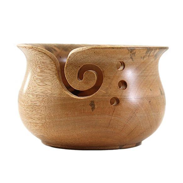 Yarn Bowl (natural glossy)