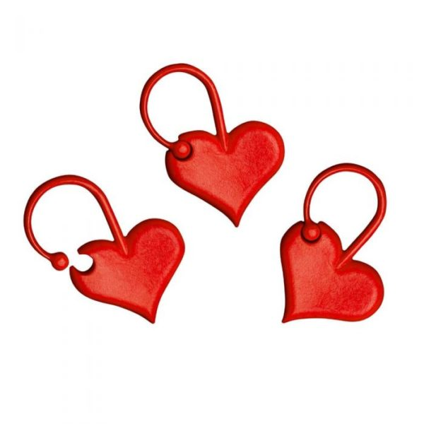 Addi Love Stitch Markers (set of 10)
