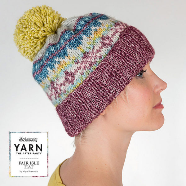 After Party 7 – Fair Isle Hat