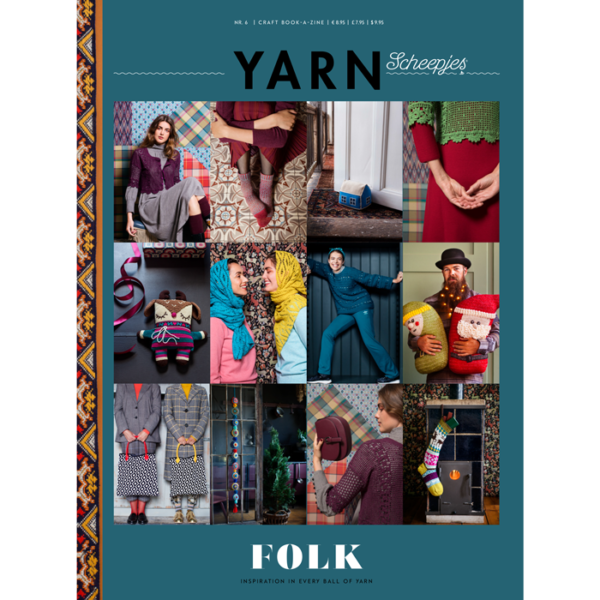 Scheepjes YARN book-a-zine 6 (Folk)