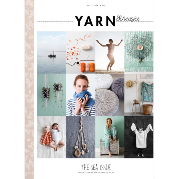 Scheepjes YARN book-a-zine 1 (Sea Issue)