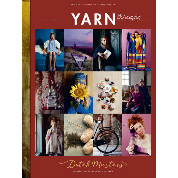 Scheepjes YARN book-a-zine 4 (Dutch Masters)