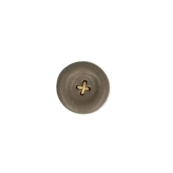 Cohana Shigaraki Ware Magnetic button (Grey)