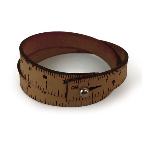 Wrist Ruler (Medium Brown)