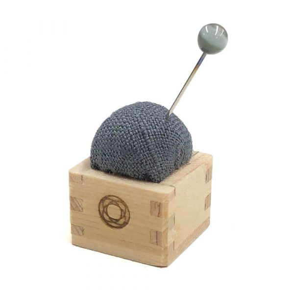 Cohana Mini Masu Pincushion (grey)