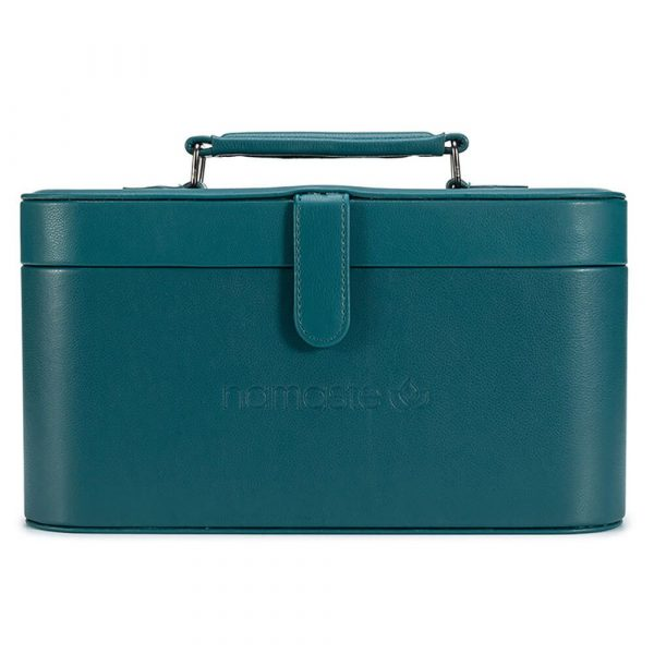 Namaste Maker's Train case (Dark Teal)