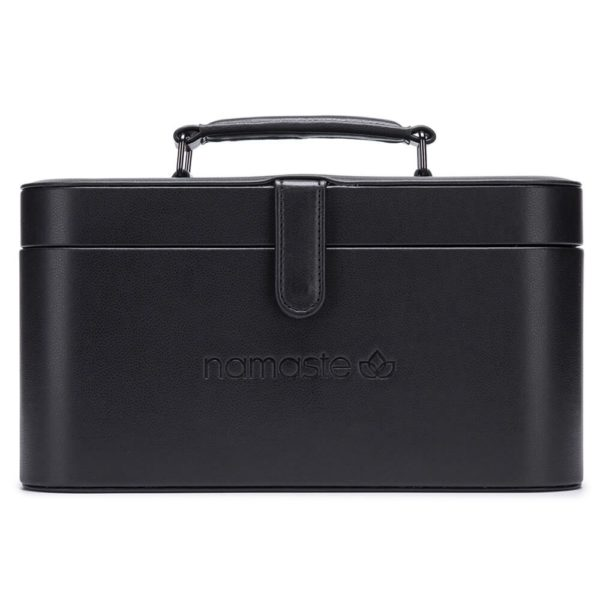 Namaste Maker's Train case (Black)