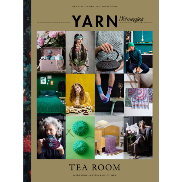 Scheepjes YARN book-a-zine 8 (Tearoom)
