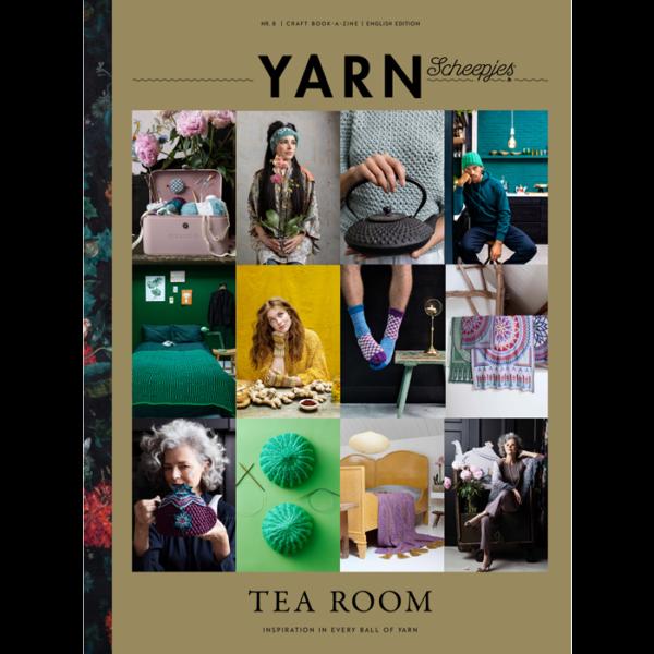 Scheepjes YARN book-a-zine 8 (Tearoom)
