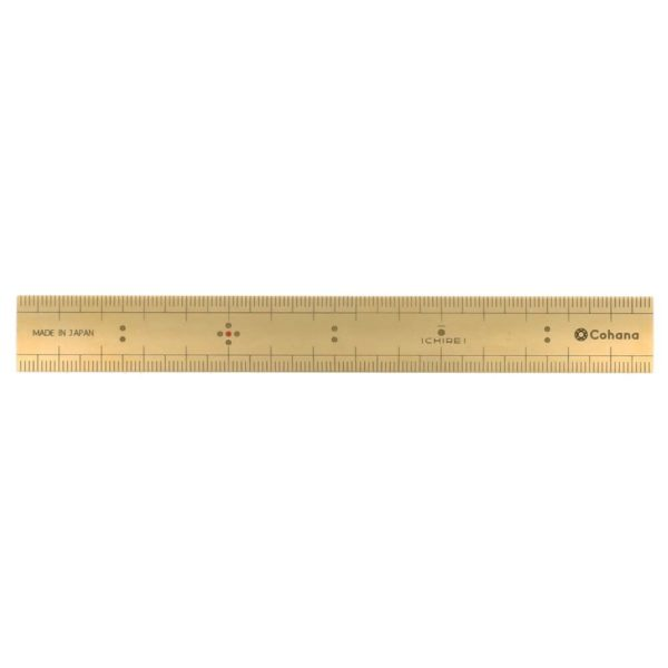 Cohana Bamboo scale of Brass (15cm)