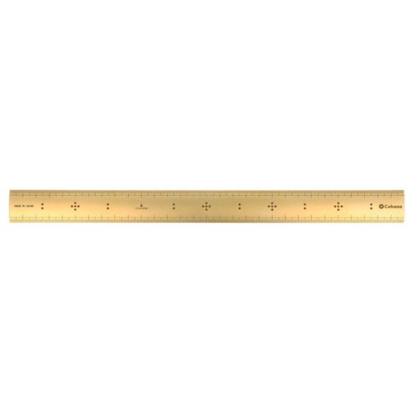 Cohana Bamboo scale of Brass (30cm)