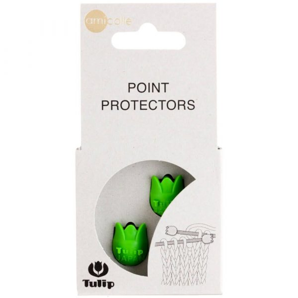 Tulip Knitting Needle Point Protectors Small (green)