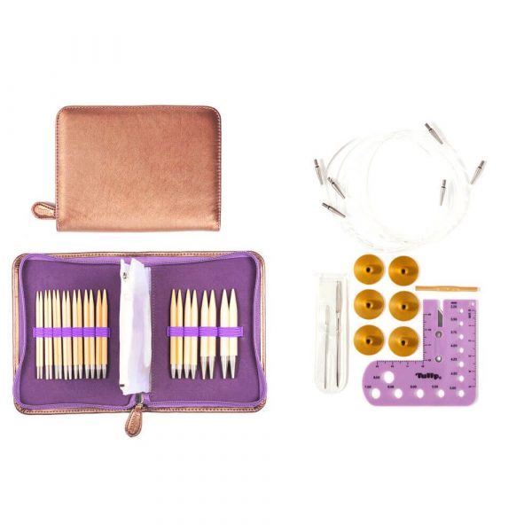 Tulip CarryC Interchangeable Knitting needle set (3.50-9.00mm)