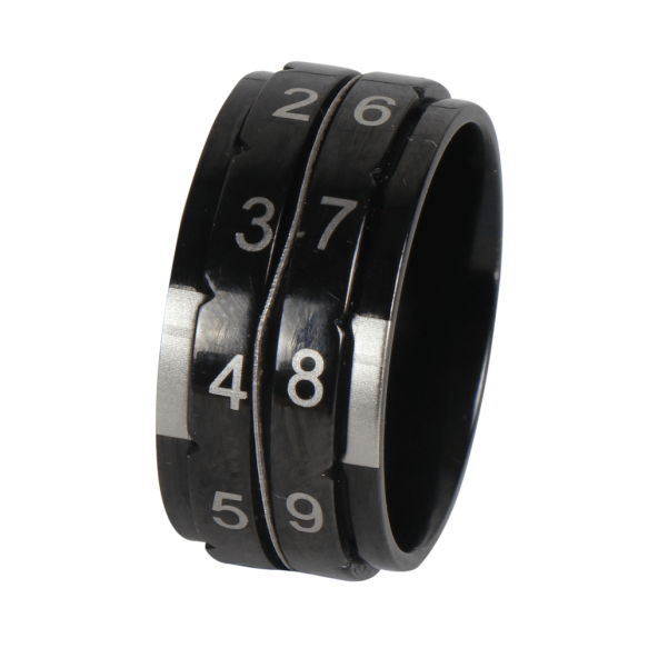 Knitpro Row counter ring (black)