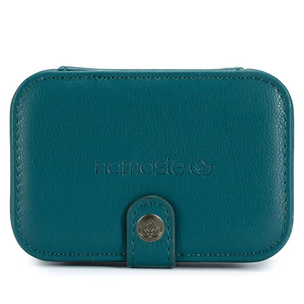 Namaste buddy case (teal, small)