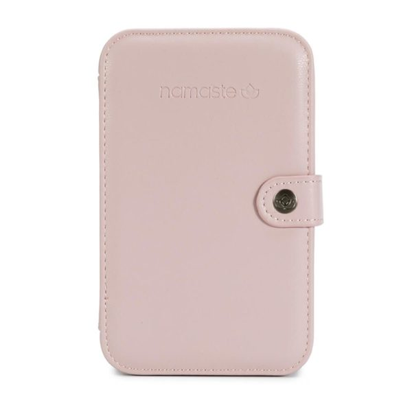 Namaste buddy case (blush, large)