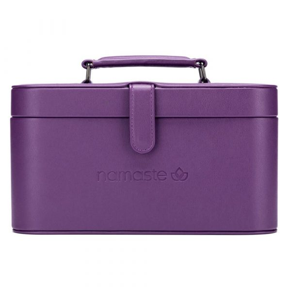 Namaste Maker's Train case (Purple)