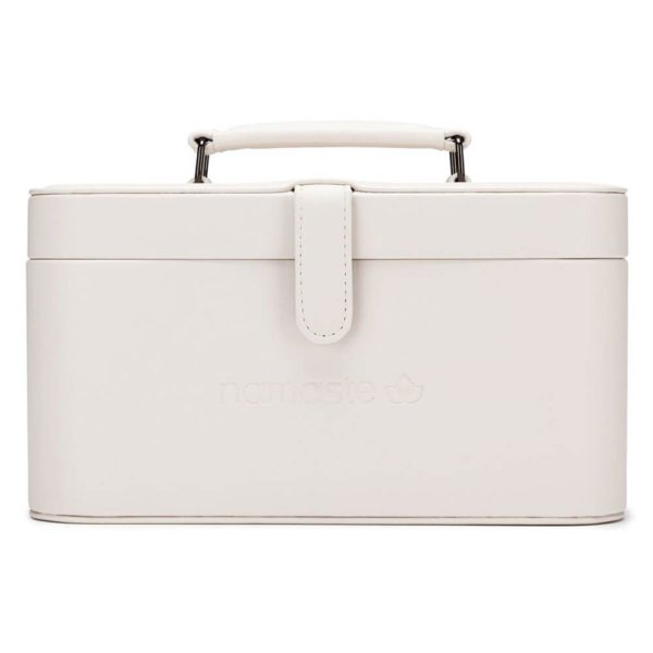 Namaste Maker's Train case (Cream)