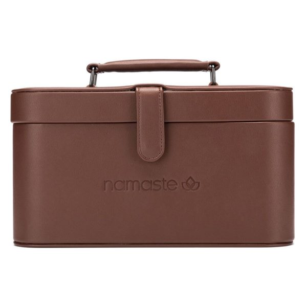 Namaste Maker's Train case (Brown)