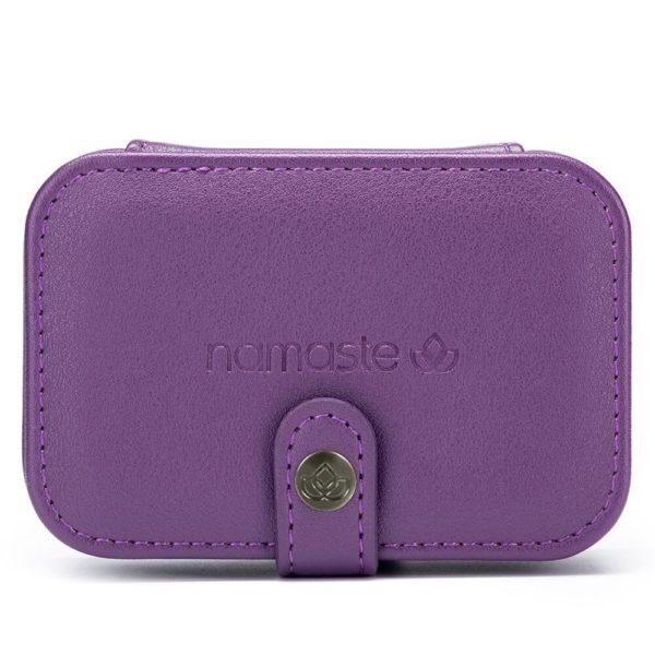 Namaste buddy case (purple, small)