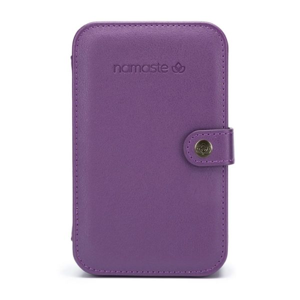 Namaste buddy case (purple, large)