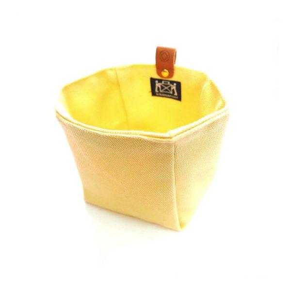 Cohana paraffin-coated insert bag (Yellow)