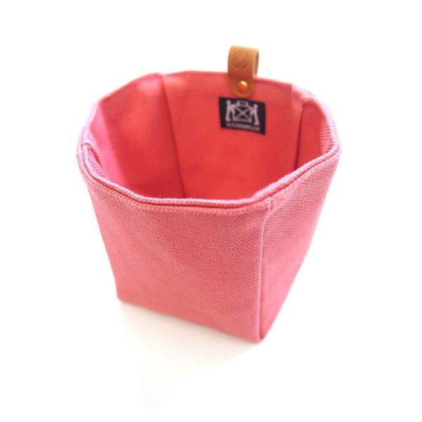 Cohana paraffin-coated insert bag (Pink)