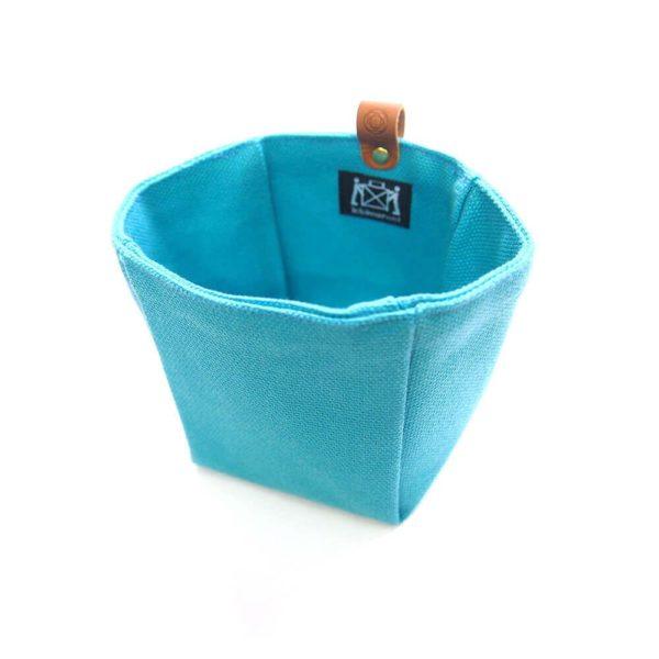 Cohana paraffin-coated insert bag (Green blue)