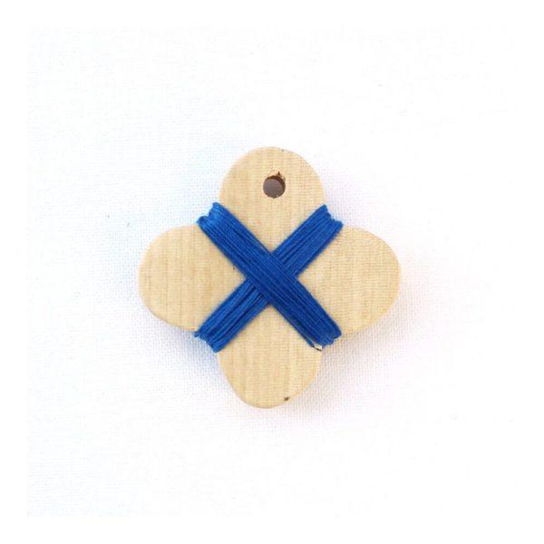 Cohana wooden thread winder (Blue)