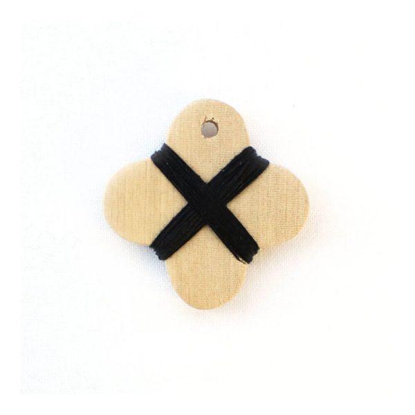 Cohana wooden thread winder (Black)